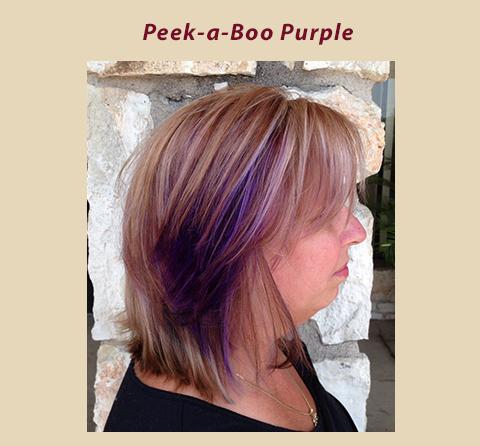 Peek-a-Boo Purple